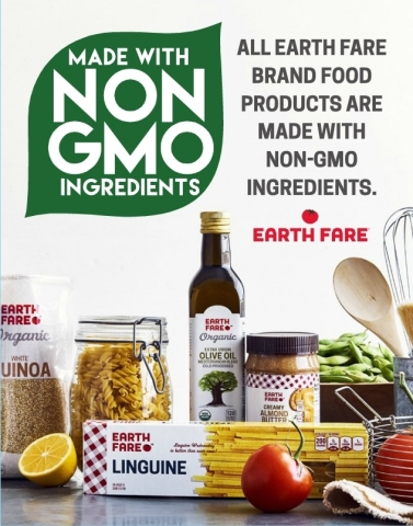 Earth Fare recently announced that its more than 500 private brand food items are made entirely with non-GMO ingredients. (Photo: Business Wire)