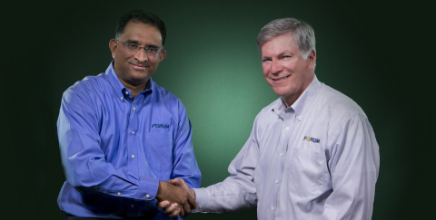 Prady Iyyanki, left and C. Christopher Gaut, right. (Photo: Business Wire)