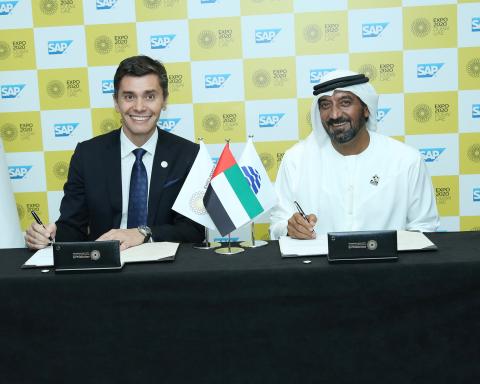 SAP signs up as Expo 2020 Dubai's Innovative Enterprise Software Partner (Photo: ME NewsWire)