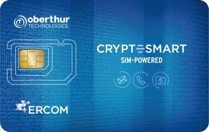 OT ed ERCOM si alleano per il lancio di Cryptosmart SIM-powered, l'eccellenza nella crittografia per le comunicazioni mobili dedicata ai dispositivi SAMSUNG di largo consumo