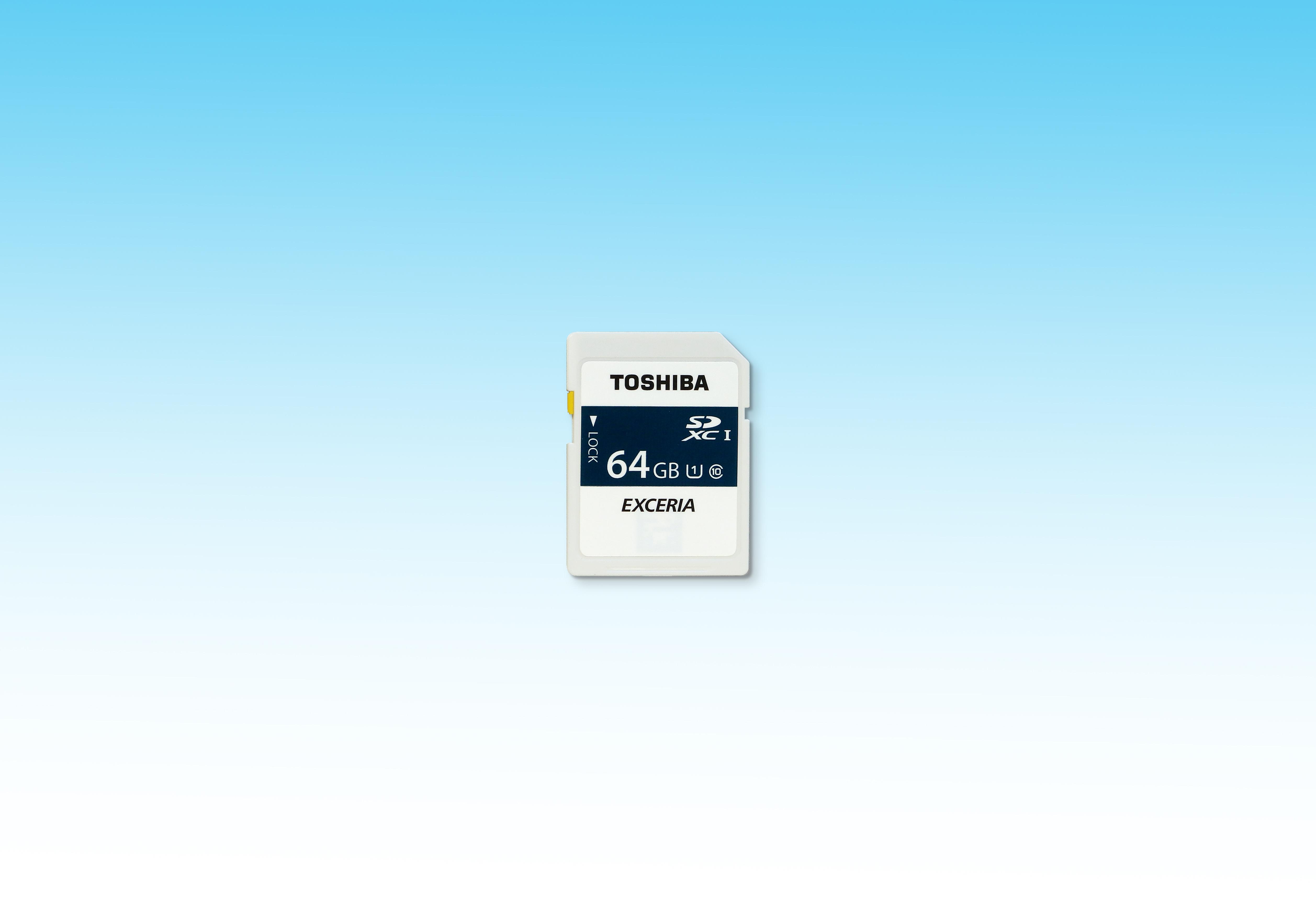 東芝:メモリカードの情報漏洩を防ぐインターフェースロック機能「Mamolica(TM)(マモリカ)」を備えたNFC搭載SDメモリカード「THNNF064GEA-D (8B8L」(写真:ビジネスワイヤ)