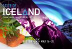 Presented by Iceland Naturally, the annual Taste of Iceland festival returns to Boston with a series of (mostly free!) cultural events March 16-20, 2017. (Graphic: Business Wire)