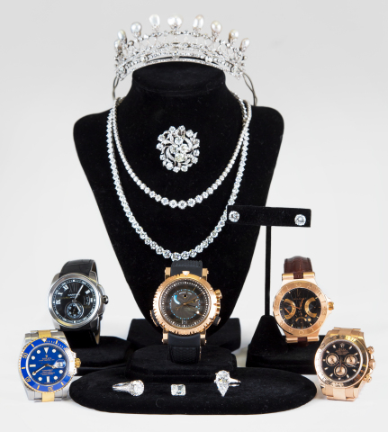 Are You Ready for the Red Carpet? Designer jewelry, timepieces and luxury goods go to auction on Oscar Sunday at L.A.'s Abell Auction Company (Photo: Business Wire)