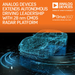 Analog Devices Extends Autonomous Driving Leadership with Drive360™ 28nm CMOS RADAR Technology Platform (Photo: Business Wire)