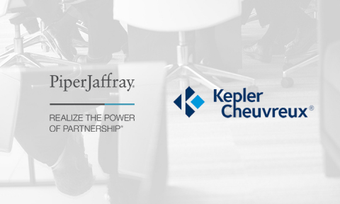 piper jaffray and kepler cheuvreux announce exclusive