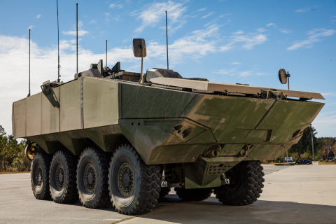 SAIC unveils its first ACV 1.1 prototype. (Photo: Business Wire)