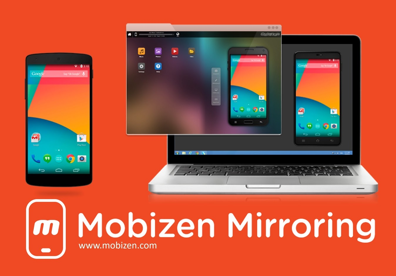 RSUPPORT launched paid service of advanced smartphone screen sharing and remote control App 'Mobizen Mirroring' globally. RSUPPORT(KOSDAQ:131370) is the remote support and control solution provider for global cloud service. Its paid service, 'Mobizen Mirroring Professional' provides connecting using relay servers between PCs and mobile devices enabling 3G, LTE and WiFi; support of iOS mirroring; recording mirrored screen and connection with USB between PCs and mobile devices or P2P in local networks; remote control of mobile screens using web browser; and file transfer between PCs and mobile devices. (Graphic: Business Wire)