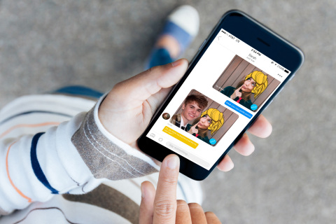 PicsArt Remix Chat Screen In Hand (Photo: Business Wire)