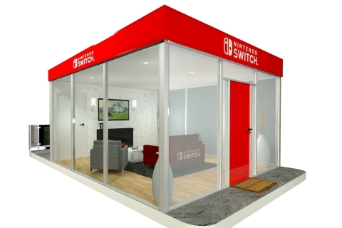 To showcase this unprecedented new style of console gaming on the go, Nintendo is showcasing the versatility of Nintendo Switch across the country with highly visual, interactive living room-inspired spaces in places you would never expect, bringing surprises to every stop. (Photo: Business Wire)