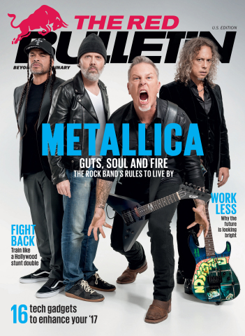 Metallica Spills 'Guts, Soul, and Fire' And The Secrets To Longevity For The February/March Issue of The Red Bulletin Magazine (Photo: Business Wire)