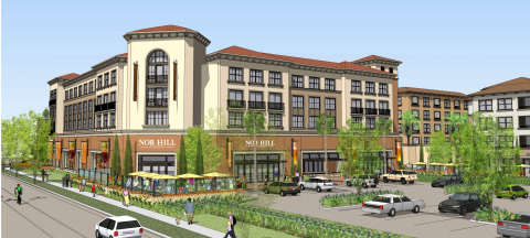 Nob Hill Foods, Monticello Apartment Homes, Santa Clara, CA (Graphic: Business Wire)