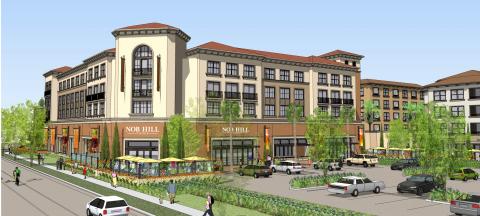 Nob Hill Foods, Monticello Apartment Homes, Santa Clara, CA (Graphic: Business Wire)