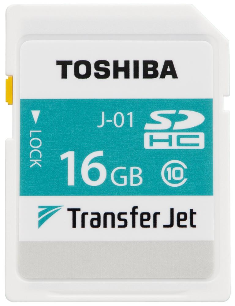 東芝:TransferJet(TM)搭載SDHCメモリカード 「SD-TJA016G」 (写真:ビジネスワイヤ)