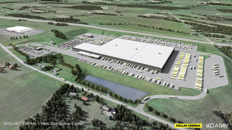 Dollar General Announces Plans for Distribution Center in Amsterdam, New York (Photo: Business Wire)