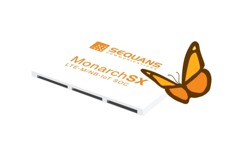 Monarch SX LTE-M/NB-IoT system-on-chip from Sequans (Photo: Business Wire)