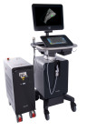 Vevo LAZR-X, the world's only customizable imaging platform combining ultra high frequency ultrasound and photoacoustics for animal research applications. (FUJIFILM VisualSonics, Inc.)