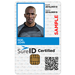 The SureID Certified Edge solution offers identity proofing, facilitation of recurring background screenings and credentialing on a subscription basis. (Photo: Business Wire)