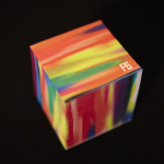 Limited Edition Fyodor Golan Post-it® Note cube (Photo: 3M Design)