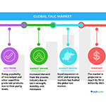 Technavio has published a new report on the global talc market from 2017-2021. (Graphic: Business Wire)