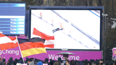 Panasonic took part in the test events for the Olympic Winter Games PyeongChang 2018 with its AV equ ...