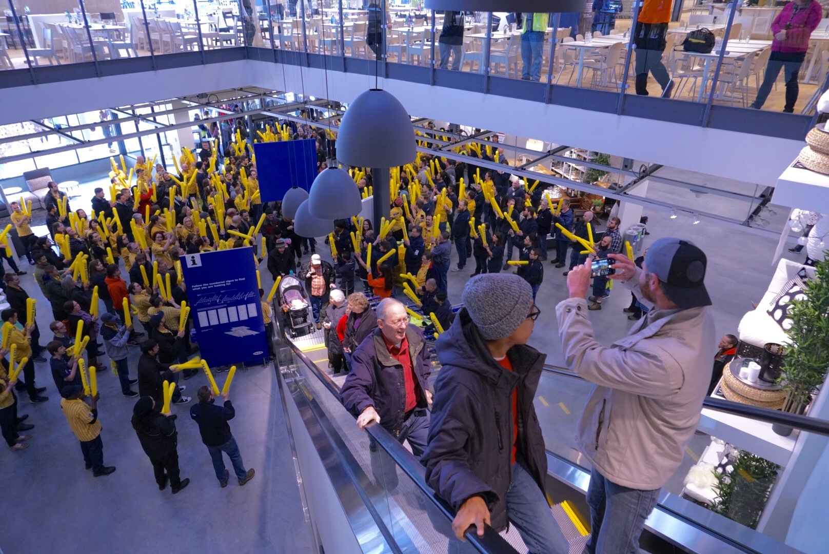 ADDING MULTIMEDIA IKEA Opens New And Updated SeattleArea Store In - Ikea world map sale