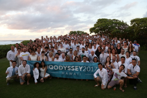 iQmetrix iQodyssey Trip Staff Photo 2017 in Oahu, Hawaii (Photo: iQmetrix Staff Photo in Oahu, Hawaii)