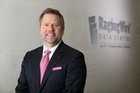 Long-term RagingWire executive, Douglas Adams, was named CEO of RagingWire Data Centers, Inc. (Photo: Business Wire)