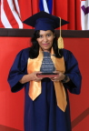 Felipa Benitez could not read or write when she joined HanesBrands in Honduras in 2009. By participating in the company's continuing education program, Felipa recently earned her high school diploma – and has received a scholarship to attend college. (Photo: Business Wire)