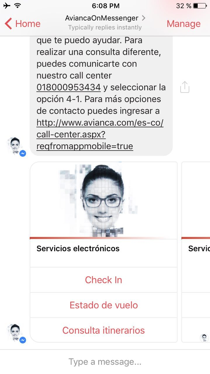 Avianca's Carla chatbot is one of the first in Colombia. (Graphic: Business Wire)