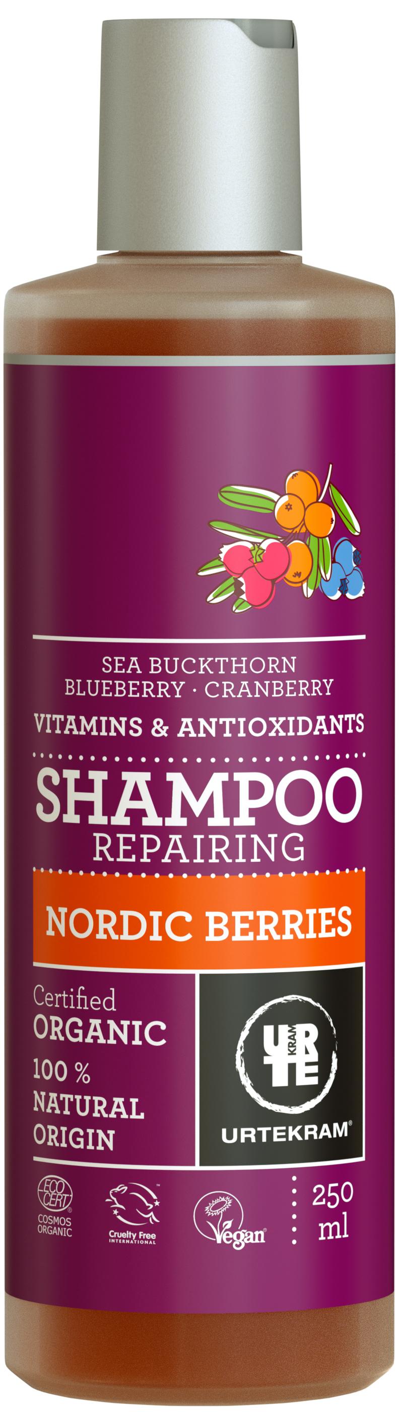Urtekram Nordic Berries Shampoo – winner of Vivaness Best New Hair Product of the Year Award 2017 (Photo: Business Wire)