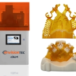 The Vida cDLM high-speed dental 3D printer will be previewed at LMT Lab Day in Chicago. In addition to being fast, it also reduces the need for supports, allowing 3D printing of castable partial frameworks with delicate clasps. (Photo: Business Wire)
