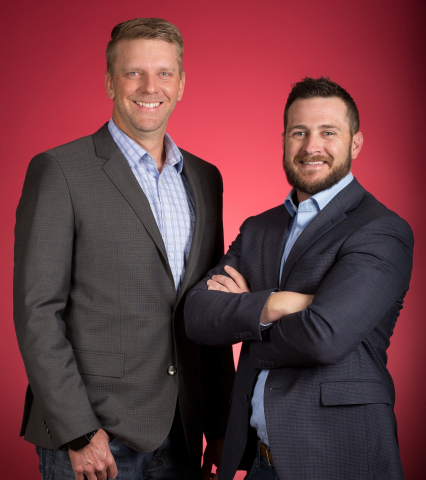 Utah Business named Shaun Alldredge and Shane Perkins, co-founders and co-owners of Legend Solar, to its 2017 Forty Under 40. (Photo: Business Wire)