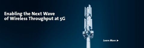 Leveraging decades of expertise in Active Antennas and Monolithic Microwave Integrated Circuits (MMICs), MACOM is utilizing its experience in beamforming radar design and applying it to 5G applications. MACOM's product portfolio supports both sub-6 GHz wireless infrastructure utilizing massive MIMO (Massive In Massive Out) architectures, and high-frequency mmW technologies supporting a multitude of power and integration requirements. This legacy of innovation in phased array technology is a valuable asset for customers developing advanced antennae arrays supporting 5G beamforming capabilities. (Photo: Business Wire)