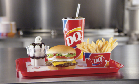 DQ Brand expands the traditional lunch hour with $5 Buck Lunch now available all day, every day. Served with a world-famous DQ Sundae, the value meal is complete with an entrée, crispy fries and a 21 oz. beverage. (Photo: Business Wire)