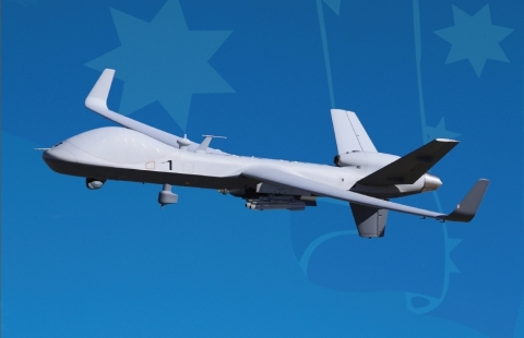 General Atomics Aeronautical Systems, Inc. today announced the official launch of its Team Reaper® Australia solution to the Project Air 7003 requirement, together with Australian teammates Cobham, CAE Australia, Raytheon Australia, and Flight Data Systems. (Graphic: Business Wire)