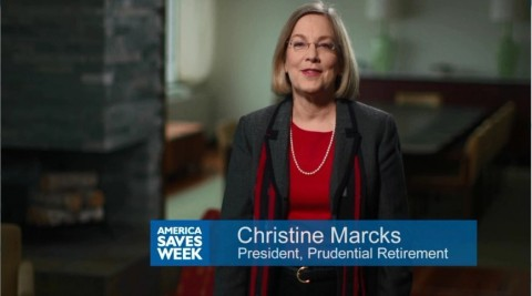 Prudential Retirement President Christine Marcks discusses the importance of finding financial balance. (Photo: Business Wire)