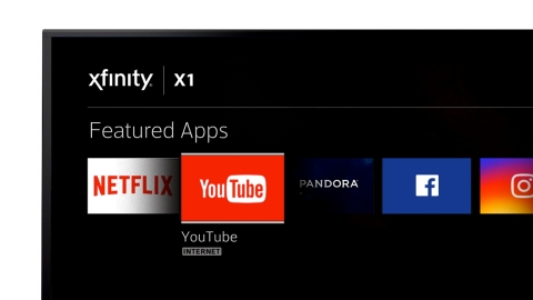 Comcast and Google today announced a deal that will launch the YouTube app on Xfinity X1 across the country later this year. (Photo: Business Wire)
