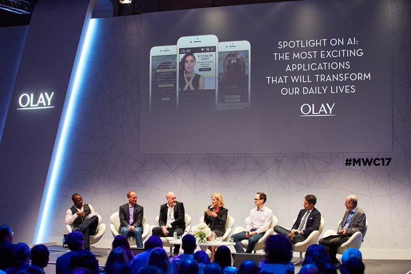 Olay debuts Olay Skin Advisor 2.0 at Mobile World Congress. (Photo: Business Wire)