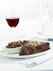 New York Strip Steak with Burgundy Button Mushrooms (Photo: Business Wire)