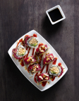 P.F. Chang's new Kung Pao Dragon Roll is hand rolled to order. (Photo: Business Wire)