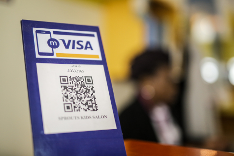 mVisa to Expand to 10 Countries - Visa partners with industry to develop QR standard for safe and easy mobile payments (Photo: Business Wire)
