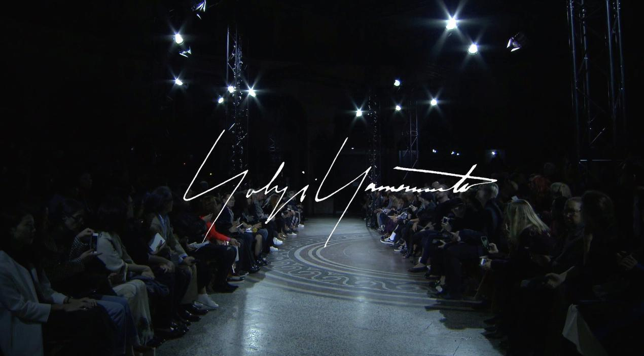 A view of YOHJI YAMAMOTO's previous show: 2017SS collection (Photo: Business Wire)