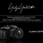 LUMIX DC-GH5将用于拍摄在巴黎时装秀举行的山本耀司时装秀(照片:美国商业资讯)