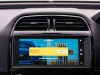 Example of an in-car payment screen featuring the Shell app (Photo: Business Wire)