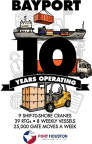 Big Impact - Port Houston's Bayport Terminal Turns 10 (Graphic: Business Wire)