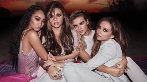 Little Mix from Left to Right: Leigh-Anne Pinnock, Jesy Nelson, Perrie Edwards, Jade Thirlwall (Photo: Business Wire)