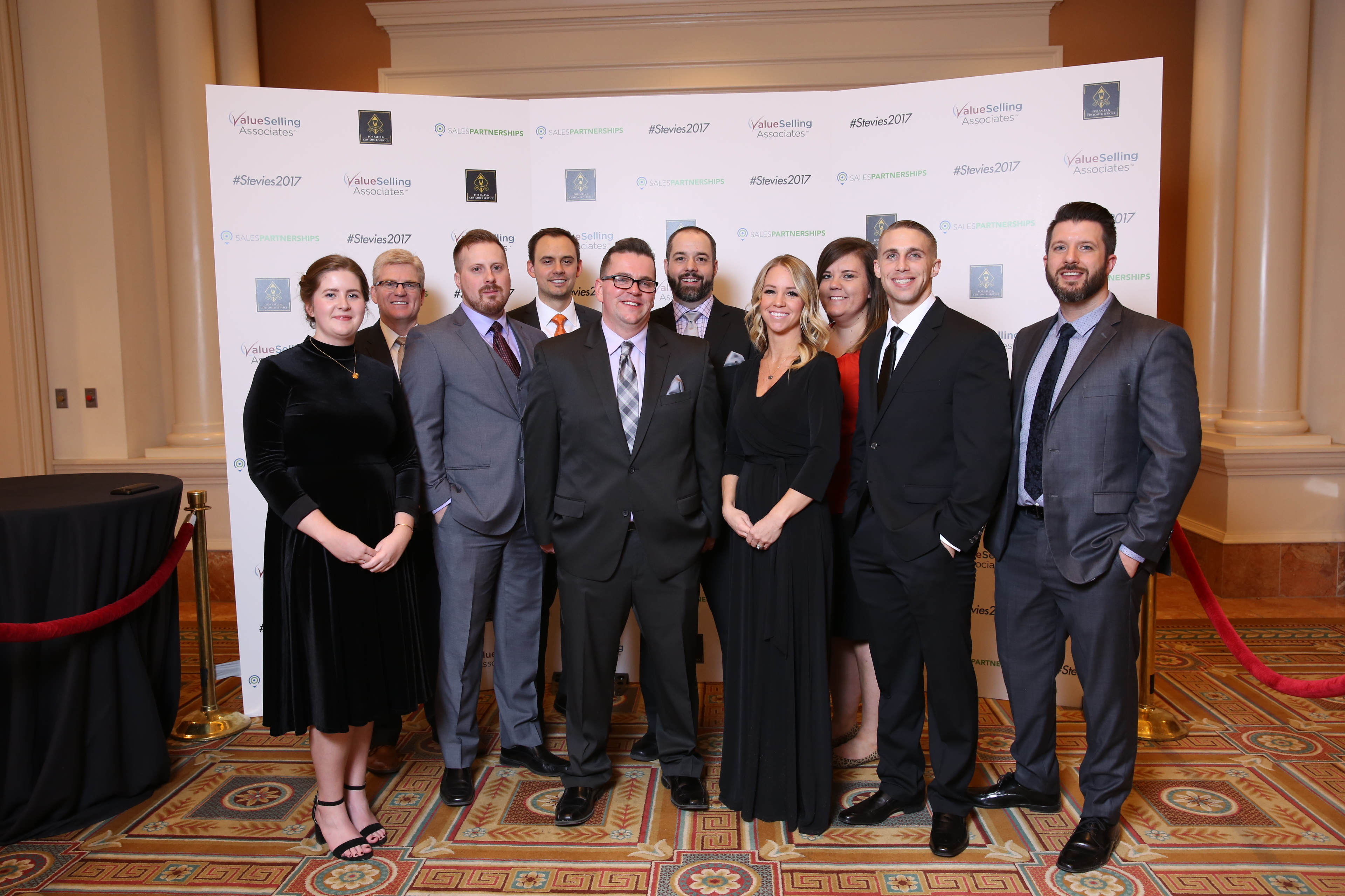 The Vivint Smart Home customer service team won two Silver Stevie Awards at the 11th annual Stevie® Awards for Sales & Customer Service. (Photo: Business Wire)