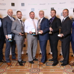 Vivint Smart Home won nine awards at the 11th annual Stevie® Awards for Sales & Customer Service, including three Gold Stevie Awards. (Photo: Business Wire)