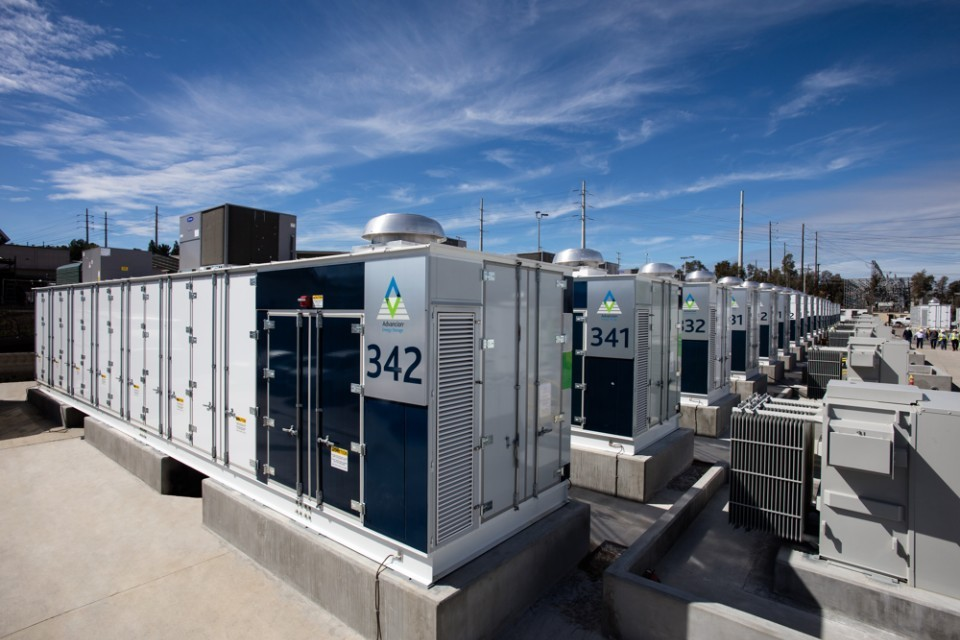 Samsung SDI Comes to the Rescue to Support California Energy Industry with Ultra-Fast Battery Delivery for the World's Largest Battery-Based ESS Project. On February 24, 2017, the world's largest Energy Storage System (ESS), a 30 MW, 120 MWh installation powered by AES Energy Storage's Advancion platform and Samsung SDI batteries was unveiled. A second Advancion array utilizing Samsung SDI batteries, a 7.5 MW, 30 MWh installation, was completed nearby and unveiled during the same event. (Photo: Business Wire)