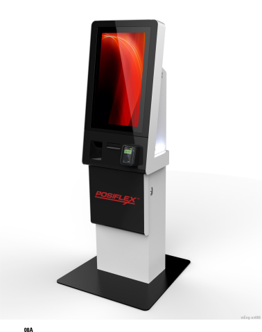 The Posiflex KK-2130 Series Self-Service Kiosk (Photo: Business Wire)